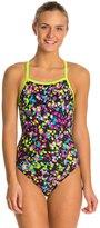 Speedo Flipturns Spectacular Splatter Propel Back Women's Swimsuit 8133078