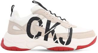 Calvin Klein Jeans 40mm Marleen Suede & Mesh Sneakers