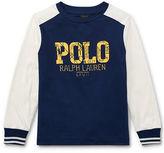 Ralph Lauren 2-7 Cotton Long-Sleeve T-Shirt
