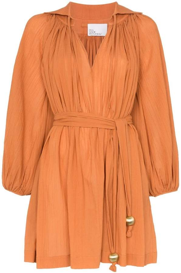 e534e3e801 Lisa Marie Fernandez Orange Dresses - ShopStyle
