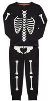 F&F Skeleton Glow in the Dark Pyjamas, Boy's