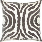 """Lili Alessandra Zebra-Stripe Pillow, 24""""Sq."""