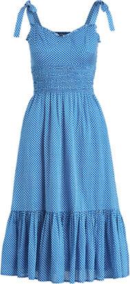 Ralph Lauren Star-Print Cotton Dress