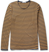 Nonnative Master Striped Cotton-Jersey T-Shirt