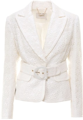 Zimmermann Super Eight Lace Jacket