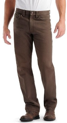 Lee Uniforms Lee Men's Regular Fit Straight Leg Jean