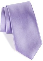 Nordstrom Solid Satin Silk Tie (X-Long)