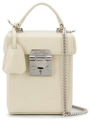 Mark Cross Flip-Lock Box Cross Body Bag