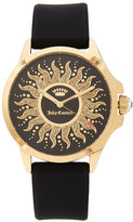 Juicy Couture 1901429 Gold-Tone & Black Watch