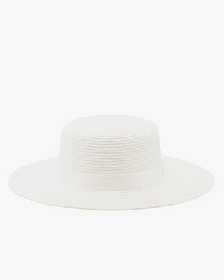 Le Château Straw Boater Hat