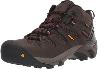Keen Men's Lansing Mid Steel Toe Waterproof Work Boot