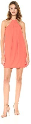 Trina Turk Women's Vine Pleat Front Tank Dress