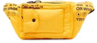 Off-White Off White Logo Print Belt Bag - Mens - Yellow