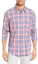 Faherty Men's Ventura Trim Fit Plaid Sport Shirt
