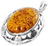 Ostsee-Schmuck Women's Pendant 925 / 000 Sterling Silver with Amber