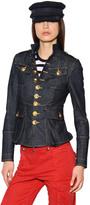 DSQUARED2 Stretch Cotton Denim Jacket
