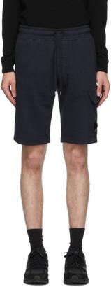 C.P. Company Navy Cargo Bermuda Shorts