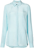 Altuzarra check shirt - women - Silk/Viscose - 36