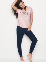 Victoria's Secret Victorias Secret Ribbed Sleep Jogger