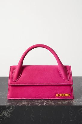 Jacquemus Le Chiquito Long Nubuck Tote - Bright pink