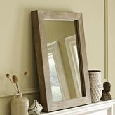 west elm Parsons Wall Mirror - Natural Solid Wood