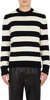 Rag & Bone Men's Shane Striped Wool Sweater-BLACK
