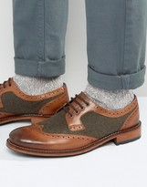 Ted Baker Cassiuss Wool Brogues