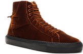 Givenchy Knots Urban High Velvet Sneakers