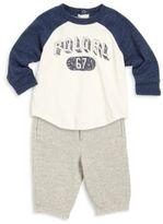 Ralph Lauren Baby's Tee & Pants Set