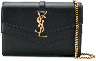 Saint Laurent Casandra monogram cross-body bag