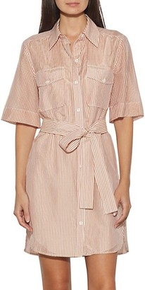 Equipment Amadee Tie Shirtdress