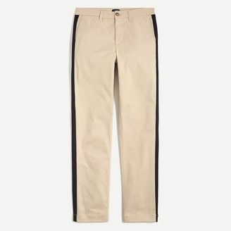 J.Crew High-rise girlfriend chino with side stripe