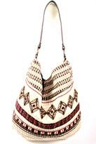 Love Stitch Lovestitch Beaded Hobo Bag
