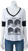 "Rock & Republic Women's Beatles ""Hard Days Night"" Graphic Tee"