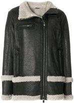 Drome oversized fur-lined coat