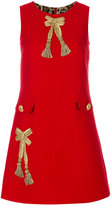 Dolce & Gabbana bow detail shift dress