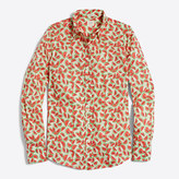 J.Crew Factory Classic button-down shirt in printed cotton