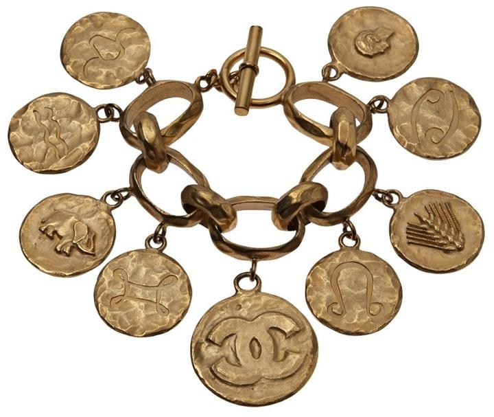 Chanel zodiac charm bracelet