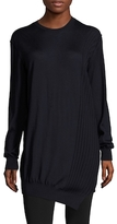 Jil Sander Cashmere Asymmetrical Dropped Shoulder Sweater
