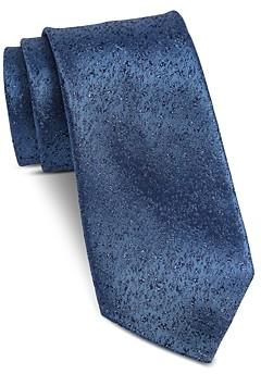John Varvatos Fillmore Speckled Textured Classic Silk Tie