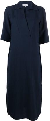 Antonelli V-neck midi dress