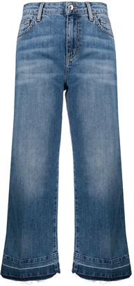 Liu Jo High-Rise Cropped Jeans