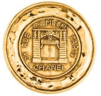 Chanel Rue Cambon Brooch
