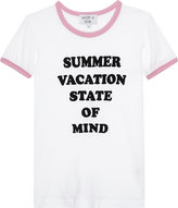 Wildfox Couture Slogan-print cotton-jersey T-shirt 7-14 years