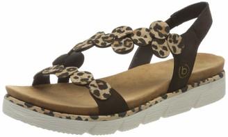 Bugatti Women's 431673856459 Ankle Strap Sandals