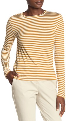 Vince Striped Long Sleeve T-Shirt