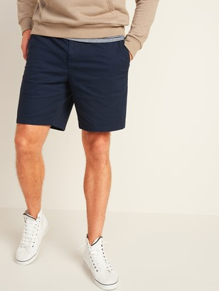 Old Navy Elastic-Waist Ultimate Built-In Flex Twill Shorts for Men -- 8-inch inseam