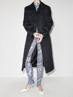 MAISIE WILEN Blue Body Shop Printed Leggings