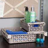 Iris 3 Piece Decorative Basket Combination Set