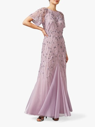 Phase Eight Collection 8 Florisa Squinned Dress, Pale Lavender
